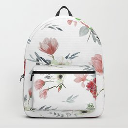 Autumn Floral Pattern Backpack