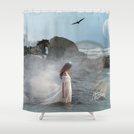 The Sea Calling Home Shower Curtain