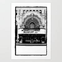 theater Art Prints featuring Theater by Yancey Wells