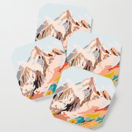 glass mountains Coaster