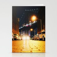 dumbo Stationery Cards featuring Dumbo, Brooklyn by Dominique Weber