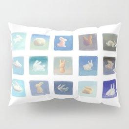 Rabbit Clouds Pillow Sham