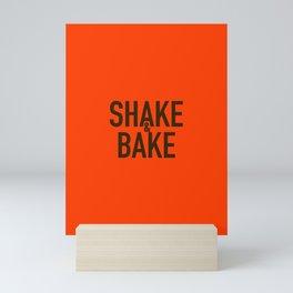 Shake & bake Mini Art Print