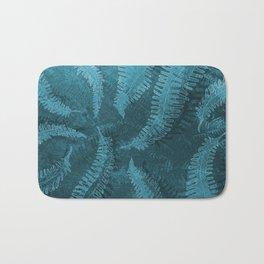 Ferns (light) abstract design Bath Mat
