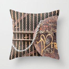 Spray Paint Secret Lover Throw Pillow