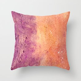 Golden Soul Throw Pillow