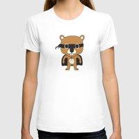 beaver T-shirts featuring Super Beaver by Ariseli Modica