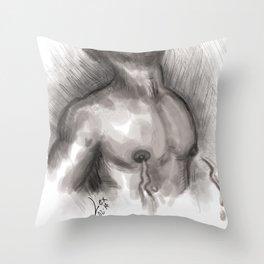 Delicious sensation Throw Pillow