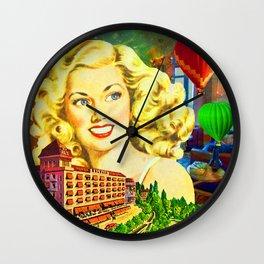 GD. HOTEL DE LA PAIX Wall Clock