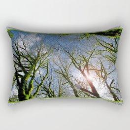 RAIN FOREST MAPLES REACHING FOR THE SKY Rectangular Pillow