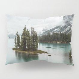 Emerald Landscape Photography | Maligne Lake | Jasper Alberta | Spirit Island Pillow Sham