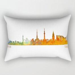 Tokyo City Skyline Hq V1 Rectangular Pillow