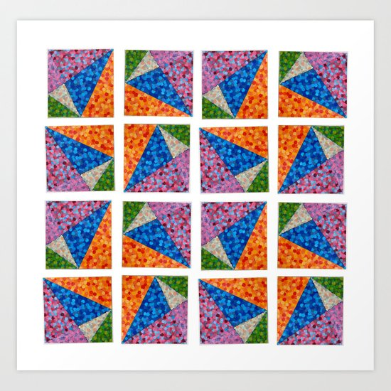 Sparkling Shape II Art Print