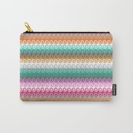 Waves colorful pattern Carry-All Pouch
