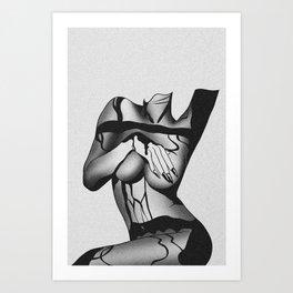 Under Boob Art Print