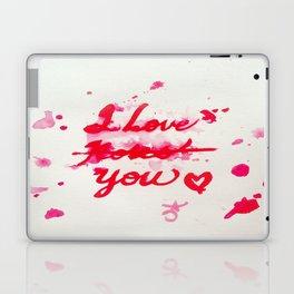 I Love Roses... I Mean, I Love You Laptop & iPad Skin