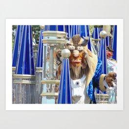 Beast at the Magic Kingdom Parade Art Print