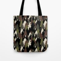 bears Tote Bags featuring BEARS by Kimsa