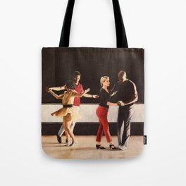 Brooklyn Swings on Friday Tote Bag