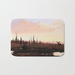 The Moose Hunter Bath Mat