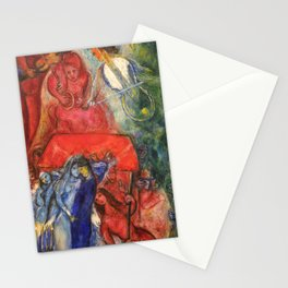 Marc Chagall the wedding Stationery Cards