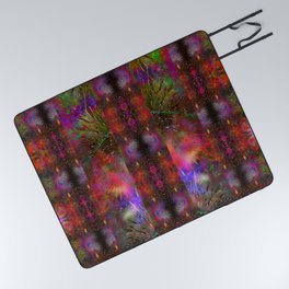 Pyrotechnic Pattern Picnic Blanket