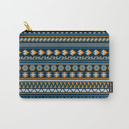 Geometric Northwest Pattern Carry-All Pouch