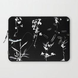 Plants & Paper clips Photogram Laptop Sleeve