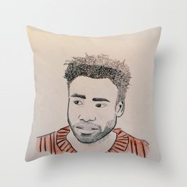 Awaken, My Love! Throw Pillow