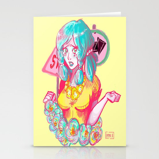 Jojolion - Yasuho Stationery Cards