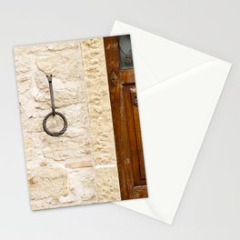 A Wall in San Marino Stationery Cards