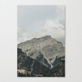 Downtown Banff Canvas Print