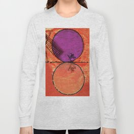 Don Quixote and the backlands of Brazil Long Sleeve T-shirt