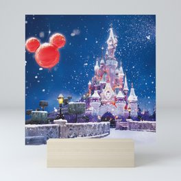 Winter fairy tale Mini Art Print