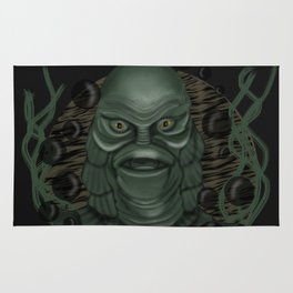 The Creature from the Black Lagoon Rug