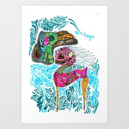 Libre Art Print