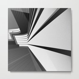 Zaha Hadid in City of London Metal Print