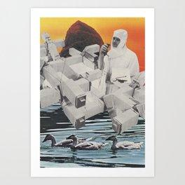 Mars Was Fun Art Print