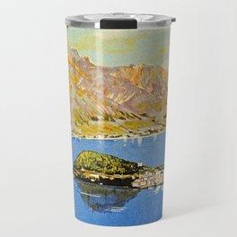 Italy Bellagio Lake Como Travel Mug