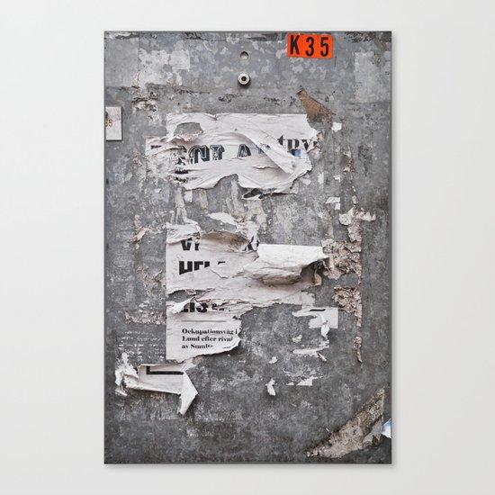 Urban Archaeology - Copenhagen Canvas Print