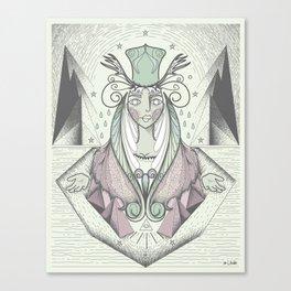 Desert Queen Canvas Print