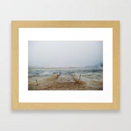 Hverir Framed Art Print