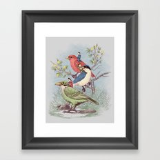 Ready to take off Framed Art Print