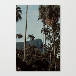 Rio de Janeiro jungle Canvas Print