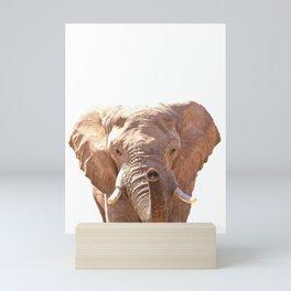 Elephant illustration Mini Art Print