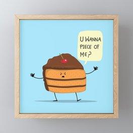 Trouble Baker Framed Mini Art Print