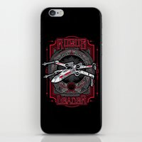 rogue iPhone & iPod Skins featuring Rogue Leader by Buzatron