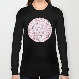 Berry Frosting Art Deco Pattern  Long Sleeve T-shirt