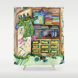 Magic Closet Shower Curtain
