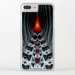 Fractal Art by Sven Fauth - Path to hell Clear iPhone Case